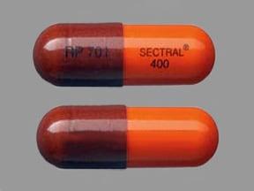 Sectral 400 mg capsule
