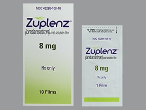 Zuplenz 8 mg oral soluble film