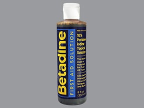 Betadine 10 % topical solution