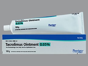 tacrolimus 0.03 % topical ointment