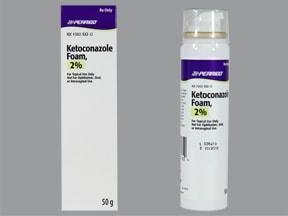 ketoconazole 2 % topical foam
