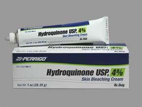 hydroquinone 4 % topical cream