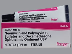 Neomycin-Polymyxin B-Dexamethasone Ophthalmic : Uses, Side