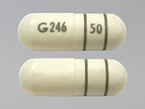 fenofibrate 50 mg capsule