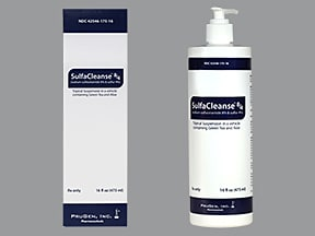 SulfaCleanse 8-4 8 %-4 % topical suspension