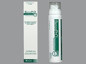 BenzePrO 9.8 % topical foam