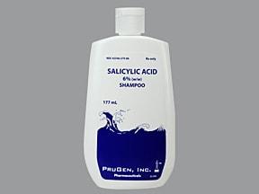 salicylic acid 6 % shampoo