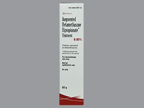 betamethasone, augmented 0.05 % topical ointment