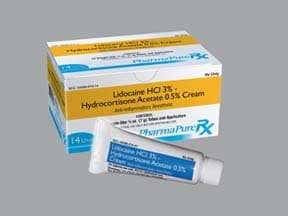 lidocaine 3 %-hydrocortisone 0.5 % rectal cream