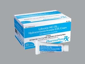 lidocaine 3 %-hydrocortisone 0.5 % rectal kit