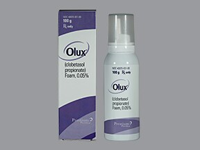 Olux 0.05 % topical foam