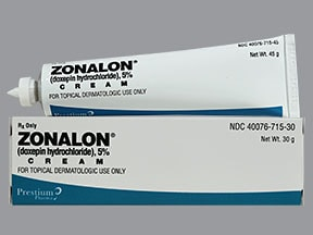 Zonalon 5 % topical cream