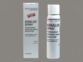 Kenalog 0.147 mg/gram topical aerosol