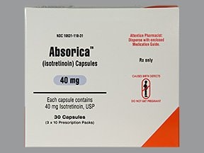 Absorica 40 mg capsule