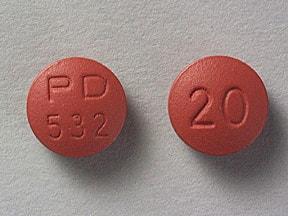 Accupril 20 mg tablet