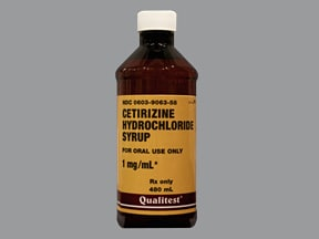 cetirizine 1 mg/mL oral solution