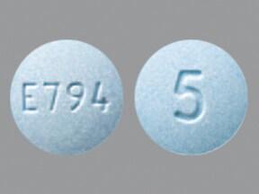 oxymorphone 5 mg tablet