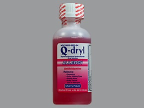 Q-Dryl 12.5 mg/5 mL oral liquid