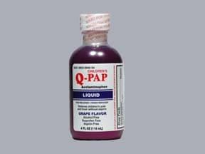 Q-PAP 160 mg/5 mL oral liquid