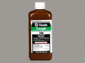 Q-Tussin DM 10 mg-100 mg/5 mL syrup