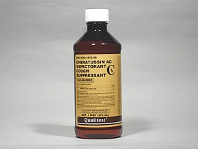 Cheratussin AC 10 mg-100 mg/5 mL oral liquid