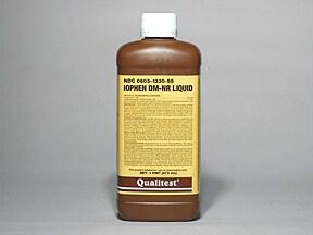 Iophen DM-NR 10 mg-100 mg/5 mL oral liquid