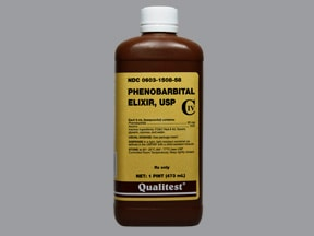 phenobarbital 20 mg/5 mL (4 mg/mL) oral elixir