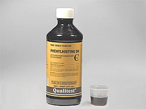 Phenylhistine DH 2 mg-30 mg-10 mg/5 mL oral liquid