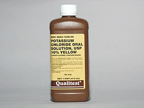 from Cohen potassium chloride oral solution
