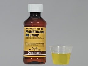 Promethazine Dm Syrup Side Effects