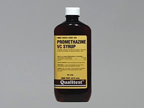Promethazine VC 6.25 mg-5 mg/5 mL syrup