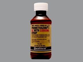 Promethazine VC-Codeine 6.25 mg-5 mg-10 mg/5 mL syrup