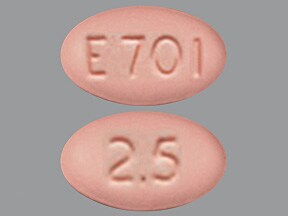 Endocet 2.5 mg-325 mg tablet