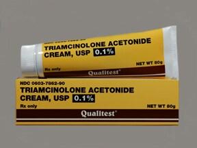 triamcinolone acetonide 0.1 % topical cream