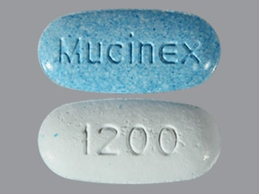 Mucinex 1,200 mg tablet, extended release