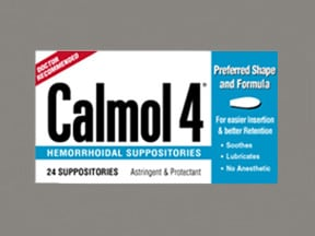 Calmol-4 76 %-10 % rectal suppository