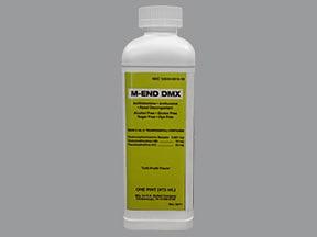 M-End DMX 0.667 mg-20 mg-10 mg/5 mL oral liquid