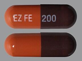 EZFE 200 200 mg iron capsule