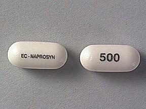 EC-Naprosyn 500 mg tablet,delayed release