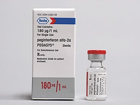 Pegasys 180 mcg/mL subcutaneous solution