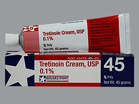 tretinoin 0.1 % topical cream