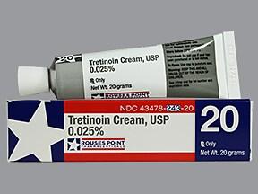 tretinoin 0.025 % topical cream