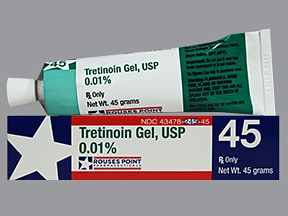 tretinoin 0.01 % topical gel