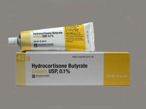 hydrocortisone butyrate 0.1 % topical cream