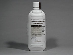 dexamethasone 0.5 mg/5 mL oral solution