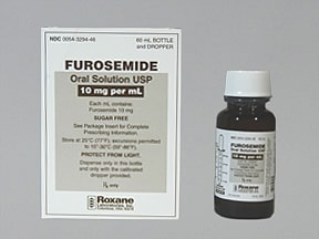 furosemide 10 mg/mL oral solution