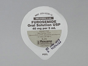 furosemide 40 mg/5 mL (8 mg/mL) oral solution
