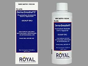 Derma-Smoothe/FS Scalp Oil 0.01 %
