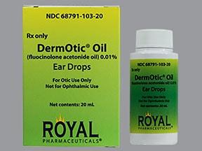 DermOtic Oil 0.01 % ear drops