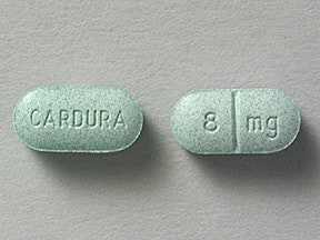 Cardura 8 mg tablet